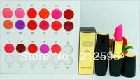 Wholesale Free shipping makeup  2013 new listing lipstick (40 / pcs) + gift