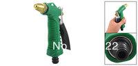Green Nonslip Grip Garden Water Trigger Hose Nozzle Spray Gun