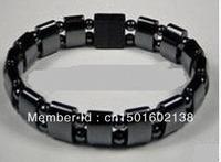 AAA Black Magnetic Hematite Bracelet Therapy Healthy men's women's bangle