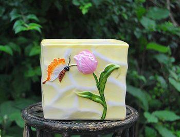 Quality sets of pots multicolor ceramic flower pot vase decoration flower mini meat small bonsai 18
