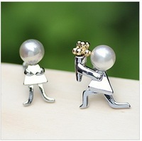 2013 Fashion bijoux jewelry .Propose to the bride to get married   stud  earrings.J049