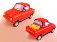 handmade model car promotion