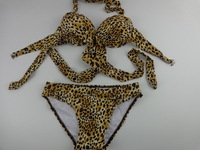 The new wild sexy leopard bikini swimsuit ultimate seduction swimwear Free Shipping DST-253
