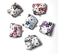 Japanese cartoon floret buckles zero wallet simple bag  Coin bag  Mixed batch of color
