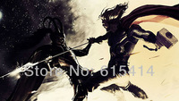 "17 Thor 2 The Dark World 2013 movie 24""x14"" inch wall Poster with Tracking Number"