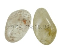 Free shipping!!! Pendant Component ,Inspirational, Rutilated Quartz, Mixed Shape, 41-49mm, Sold By KG
