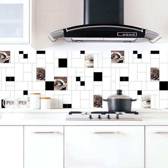 Pegatinas azulejo de la cocina compra lotes baratos de for Pegatinas azulejos cocina