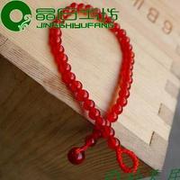 free shipping high quality Natural red agate bangle diy bracelet boys transport bracelet female red string lovers bangle