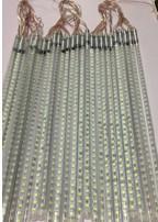 Meteor tube 50cm DC12V 10tubes/set 720 led six color Christmas lights snow fall lights(China (Mainland))