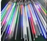 Meteor tube 50cm DC12V 10tubes/set 600 led five color Christmas lights snow fall lights(China (Mainland))