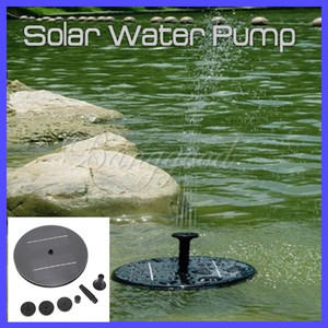 Solar-Panel-Power-Water-Floating-Pump-Fountain-Pool-Garden-Plants