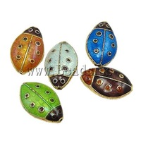 Free shipping!!!Smooth Cloisonne Beads,clearance sale with free shipping, Animal, 11.50x18x6mm, Hole:Approx 1.5mm, 20PCs/Bag