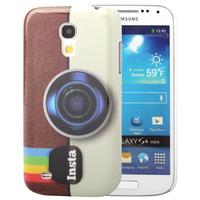 Insta Instagram Retro Old Camera Cover Hard Back Case For Samsung Galaxy S4 Mini Duos I9190 I9192