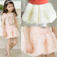 2014 new free shipping wholesale girls clothing baby child bust skirt short skirt