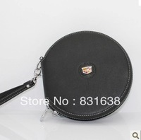Cadillac car CD bag leather discs chartered clip round the disc tray with the CD sleeve CD Bags