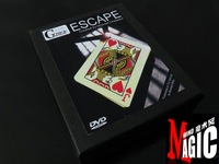 Escape by Mickael Chatelain (DVD+Gimmick) Hot Seller ! , magic products,magic sets, magic props, magic tricks,magic show