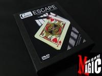 Escape by Mickael Chatelain (DVD+Gimmick) Hot Seller ! , magic products,magic sets, magic props, magic tricks,magic show