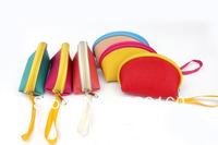 Semi-sweet candy colored purse coin bag ladies  key bag  color sent at random