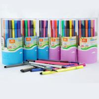 Truecolor pen washable non-toxic children's paint watercolor brush 36 color watercolor pen for kids and children school supplies