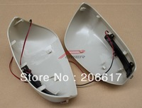 FREE SHIPPING LED Car Mirror Cover For NissanTiida 2011+ with Turn Signal LED Lights Made in Taiwan