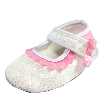 1pair/lot wholesale 2013 New Fashion Baby Girl slip-resistant soft sole shoes bow formal dress princess shoesYEX040