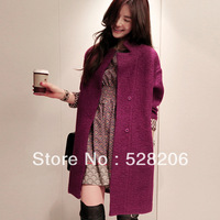 2013 NEW medium-long outerwear | underwear | Women's Wool Blends Coat | Free shipping