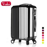 Vosloo trolley luggage travel bag suitcase luggage bag 20 24 universal wheels