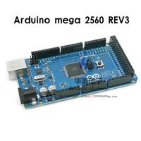 Free shipping!! Mega2560 ATmega2560-16AU Board +USB Cable Compatible with Arduino mega 2560 R3 REV3 (1 board+ 1 USB Cable)