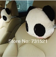 Car plush neck pillow headrest car care pillow car headrest seat headrest single