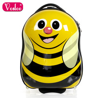 Primary school students child vosloo abs trolley luggage bag travel bag luggage 18