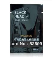 Free Shipping 200pcs Facial Minerals Conk Nose Blackhead Remover Mask Pore Cleanser Nose Black Head EX Pore Strip