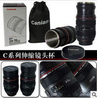 60pcs/lots zoomable lens cup (Caniam) logo EF 24-70mm 1:1F/4L IS USM telescopic Lens coffee Mug (Zoom Version)