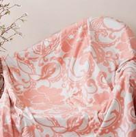 Rose jacquard mulberry silk special premium blanket silk blanket spring and autumn blanket super soft silkworm