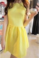 2013 summer women's ladies chiffon slim puff skirt princess one-piece dress
