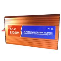 Pure sine wave inverter 48v 220v 1500w electric bicycle inverter household battery emergency converter