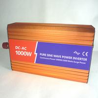 Pure solar inverter 12v 220v 1000w car inverter home emergency converter