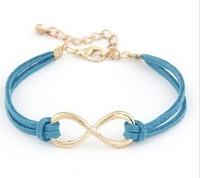 New Christmas gift Fashion Infinity bracelet Eight cross bracelet bangle jewelry
