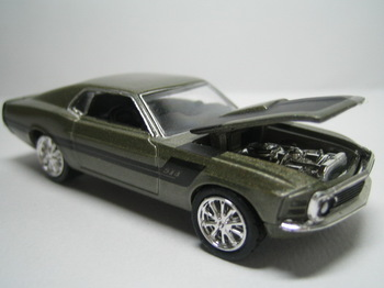 M2 alloy car models 1970 ford mustang FORD