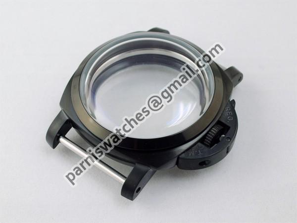 Free Shipping 47mm Lumino Style 1950s PVD watch Case Set Wholesale(China (Mainland))