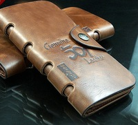 hot selling Genuine Leather wallet card holder wholesale free shipping