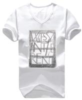Free shipping xxxl 4xl 5xl 6xl 7xl 8xl oversized short-sleeve men's plus size clothing V-neck short-sleeve T-shirt short-sleeve