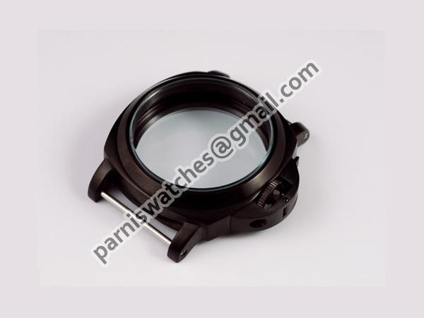Free Shipping 44mm Lumino Style PVD watch Case Set Wholesale(China (Mainland))