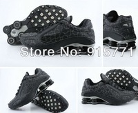 Free shipping 2013 Hot sell Monster Men Running Shox Sport Shoes Color Black