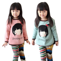 2013 new kids clothes 3~10 Age girls t shirt Multicolor optional Children clothing t shirts free ship children's t-shirt