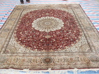 Size 8x10ft Gorgeous 100%Handmade Persian Silk  Carpet And Rug  a24-8x10 On Sale!