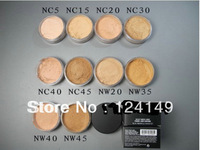 1pcs professional brand makeup loose powder,bare mineral makeup loose powder 8g cosmetic powder free shipping