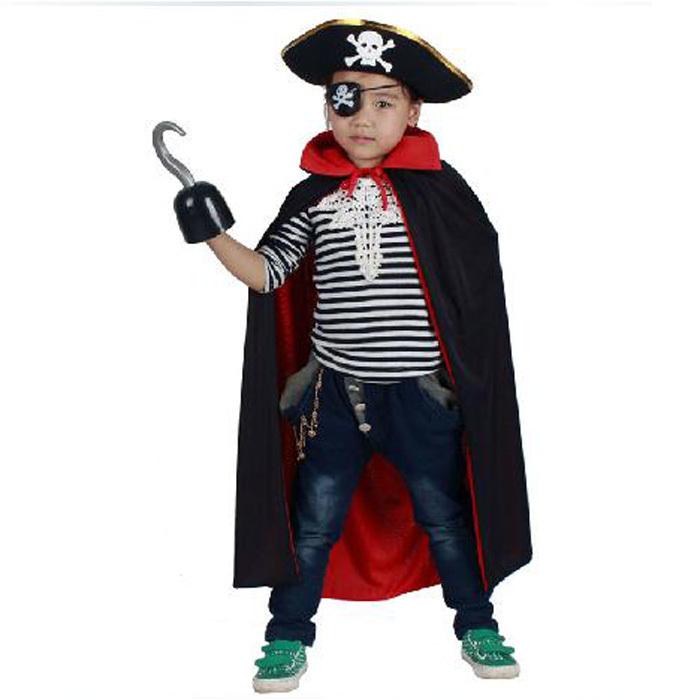 Пиратский костюм для ребенка своими руками 26