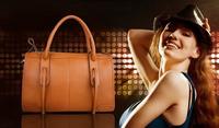 Free shipping 2013 new hot sale Genuine Leather handbag solid with tassel shoulder bag crossbody bag for women European style