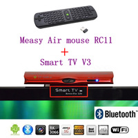 Android TV 2M HD camera MIC Google Box Rockchips RK3066 Dual-core A9 + 3D GPU+Blutooth  +Measy RC11 air mouse Free shipping
