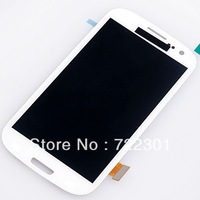 100% original LCD assembly+touch screen digtizer colors for Samsung I9300 galaxy s3 i535 T999 i747 i9308 Black White Red Gray